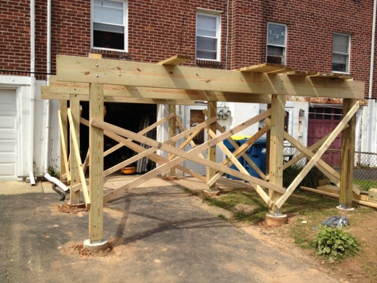 awesome how to build a freestanding deck Part - 3: awesome how to build a freestanding deck amazing design