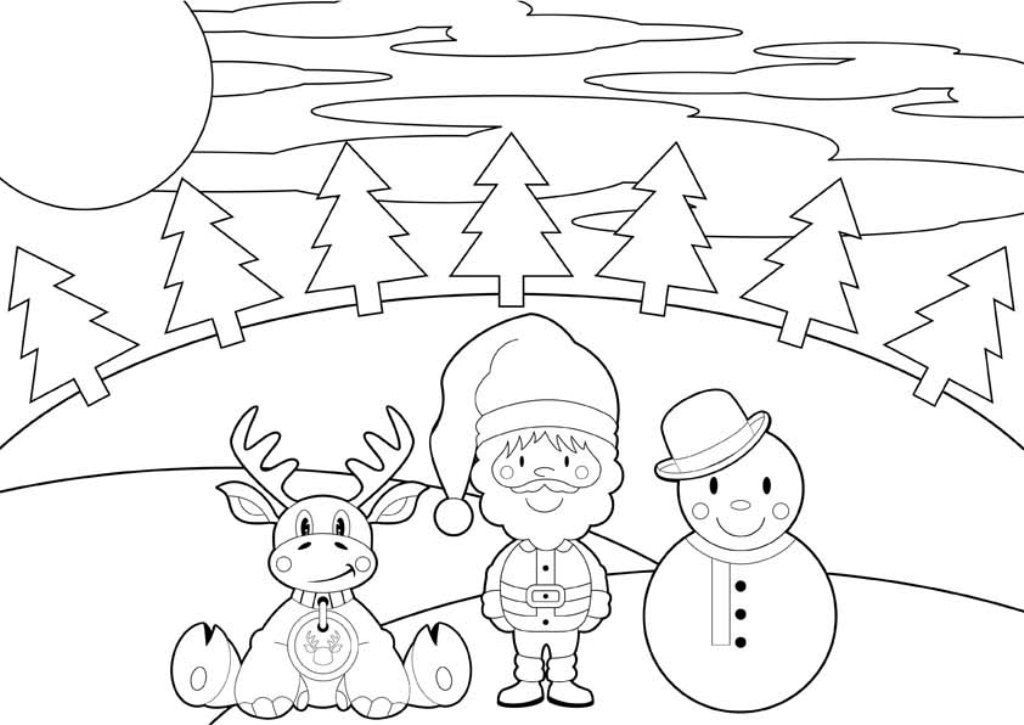Reindeer Coloring Pages | Coloring pages, Giraffe coloring ...