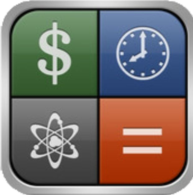 Converter + app.... Perfect for foreign currency rates