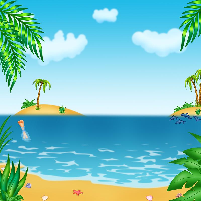 Картинки море для детей нарисованные