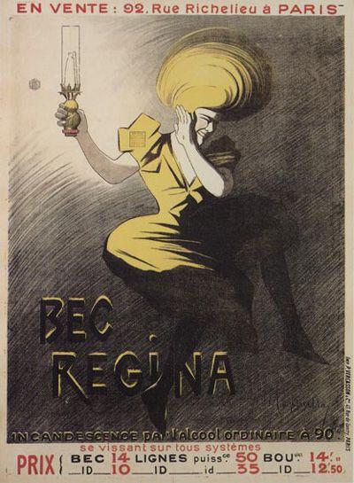 Bec Regina 1901 Leonetto Cappiello