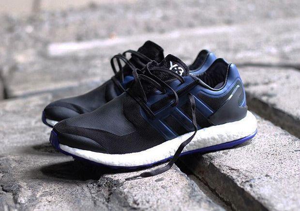 "6730b4d87  sneakers  news adidas Y-3 Pureboost ""Empire Blue"""