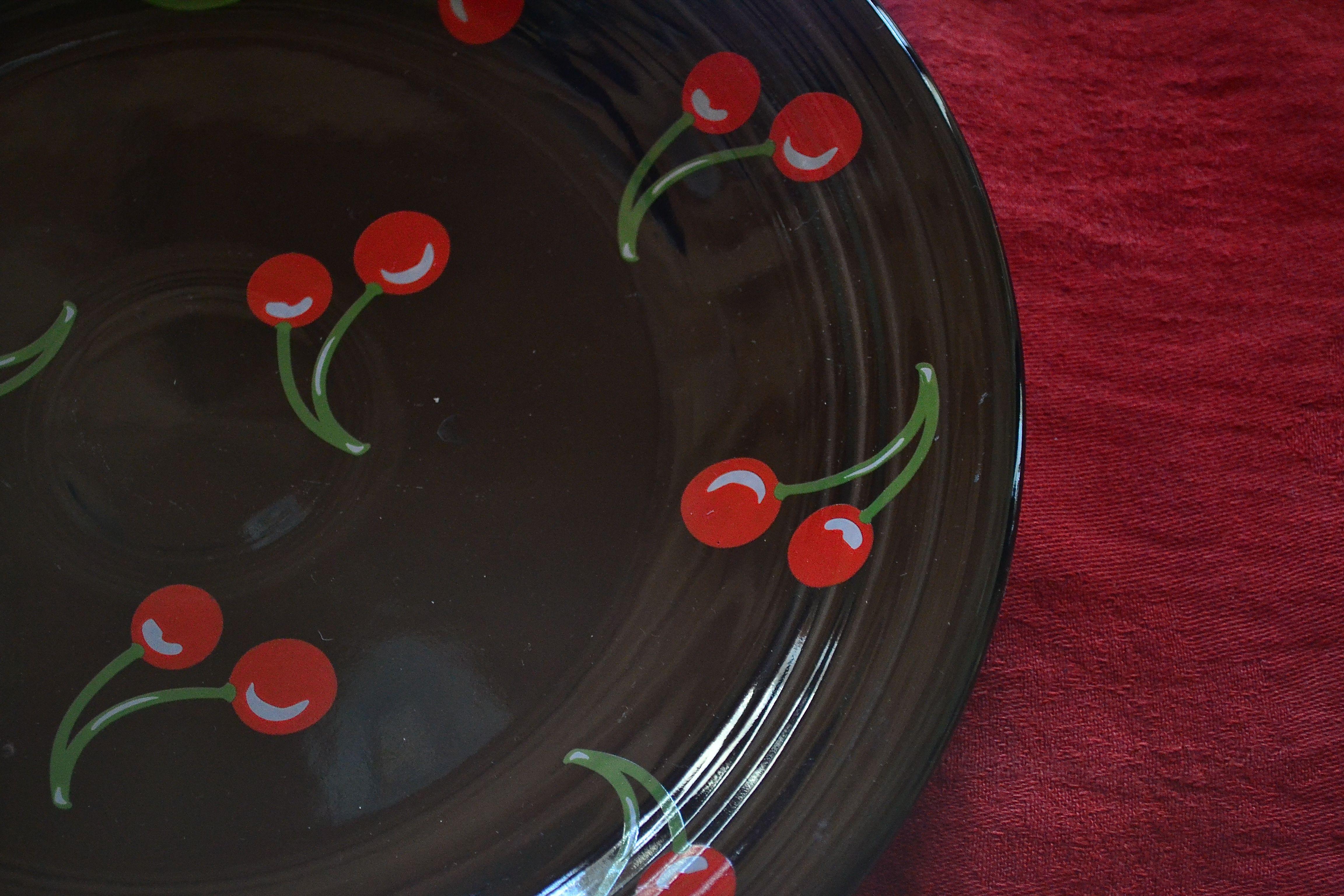 Fiesta® Black Cherry Round  Platter | Good to be Home