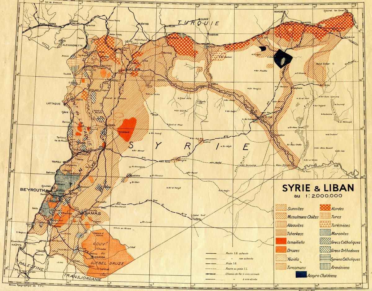 1935 map showing ethnic groups in syria and lebanon historical 1935 map showing ethnic groups in syria and lebanon gumiabroncs Image collections