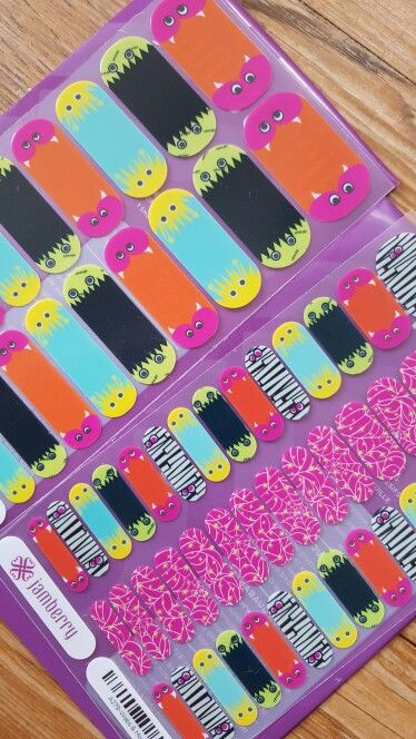 Jamberry Wraps, Halloween Mommy and Me monsters