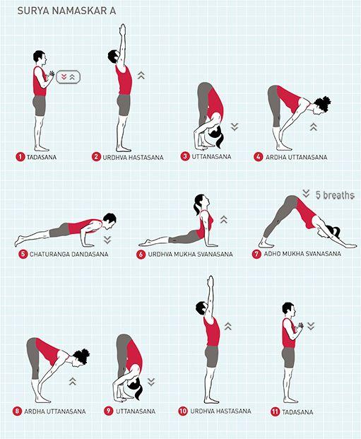 45+ How to do surya namaskar inspirations