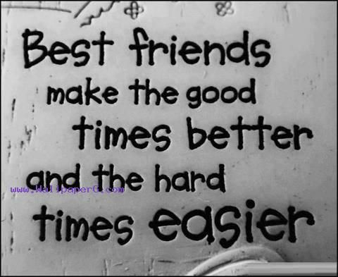 Best Friend Quotes Wallpaper Download Best friends better   Saying quote wallpapers for your  Best Friend Quotes Wallpaper