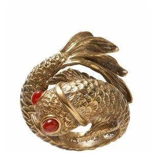 Lucky Brand Koi Fish Ring