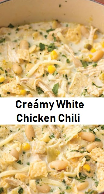 Creámy White Chicken Chili