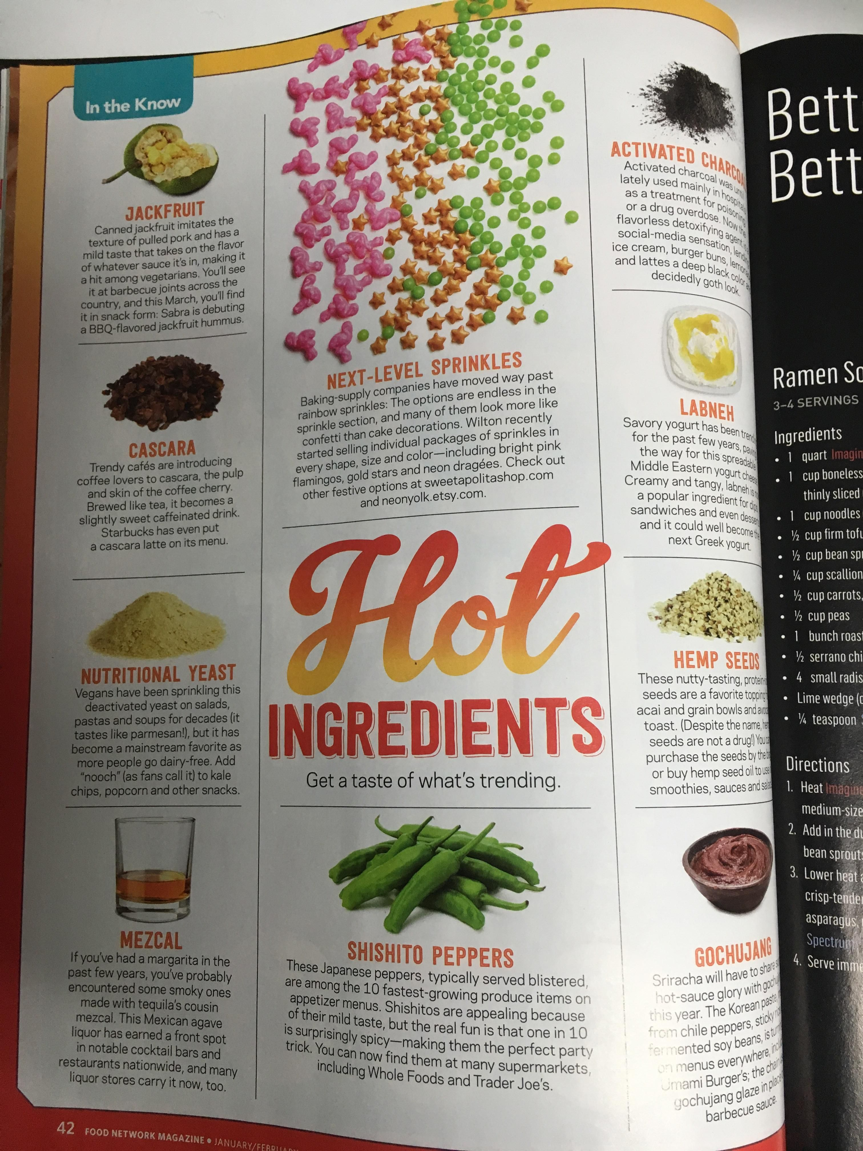 This months food network magazine getting on board with vegan foods this months food network magazine getting on board with vegan foods ugh so mainstream jk forumfinder Gallery