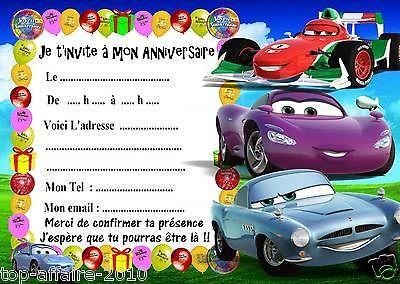 Enfants Carte Invitation Anniversaire Carte Invitation Invitation Anniversaire