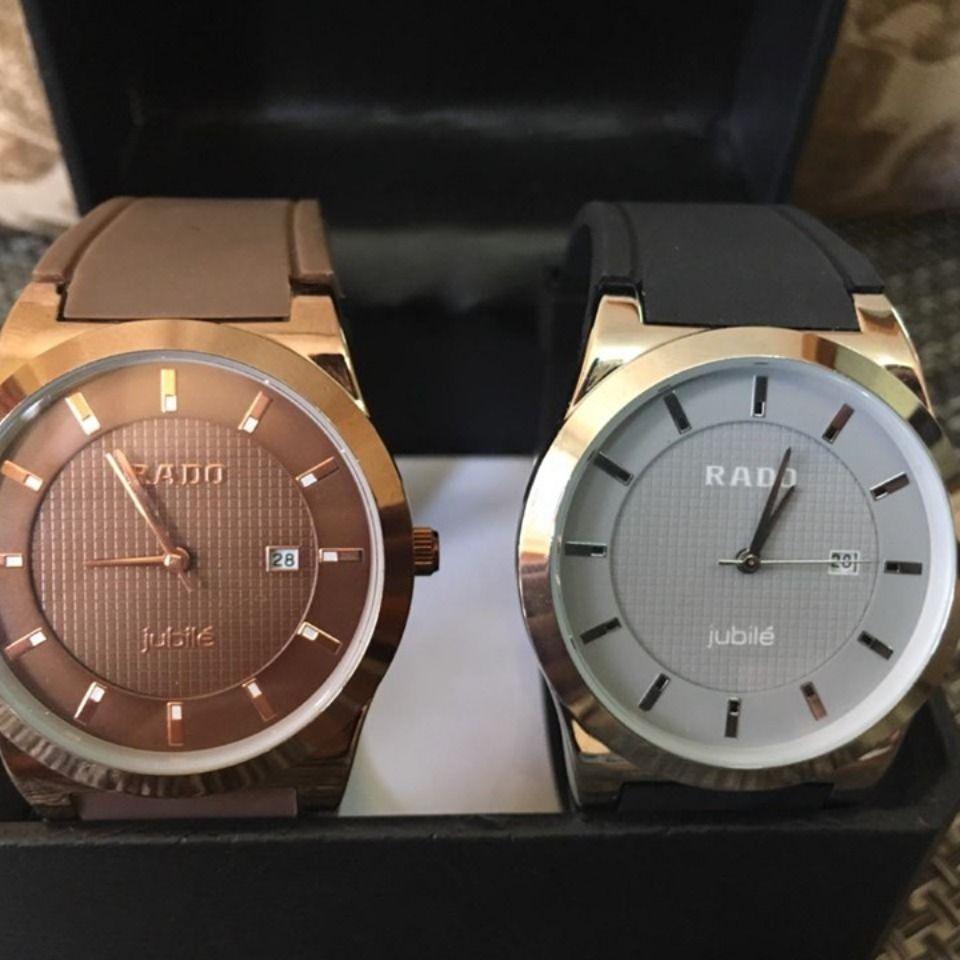 Shopcloud Rado Gents Watch Watch Collection Branded Box Leather Strap Wrist Watch Wrist Watch Brands Leather Straps Wristwatch Men