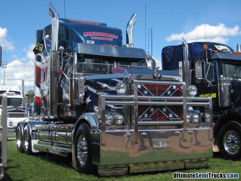 Rockabilly Western Star Western Star Trucks Big Trucks Custom Big Rigs