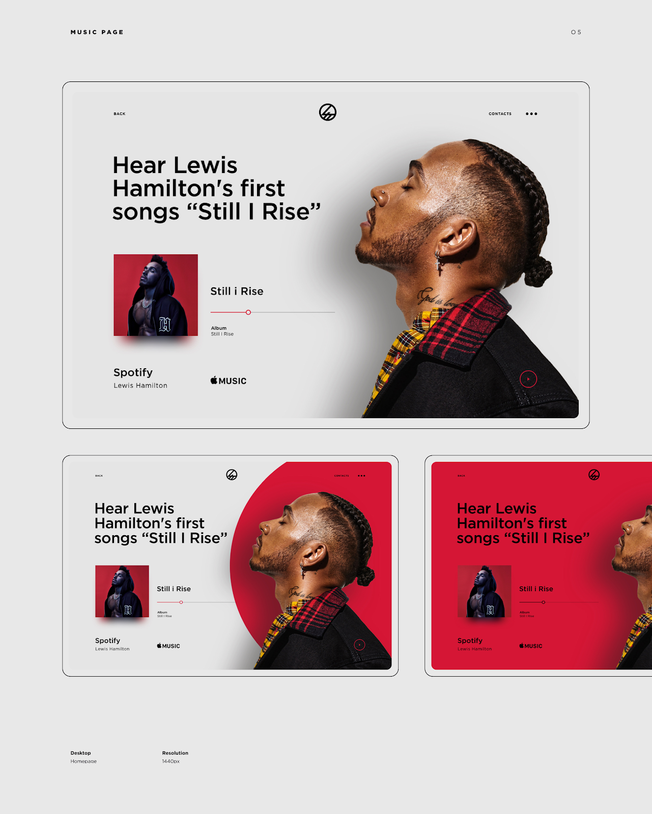 Daily Design Inspiration Collection Lewis Hamilton Web Design Hamilton