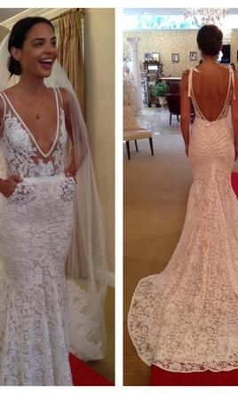977f9ac4d06 Inbal Dror BR-13-5 Size 1 Wedding Dress – OnceWed.com