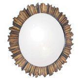 Found it at Wayfair - Gild Nature's Reflection Wall Mirror