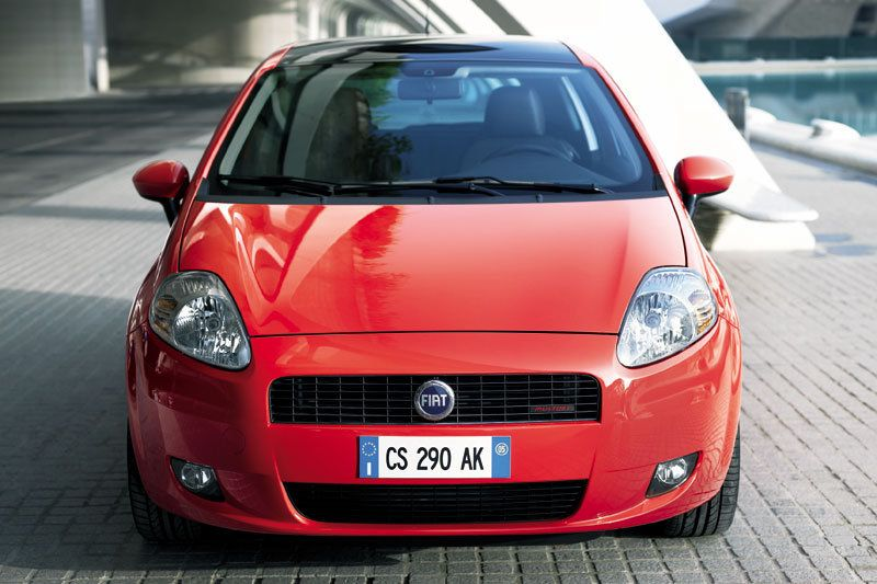 Fiat Grande Punto Puntos Proyectos