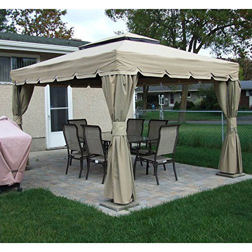 Rona Sojag Montego Bay Replacement Canopy And Netting GardenWinds  Description. Gazebo Canopy ...