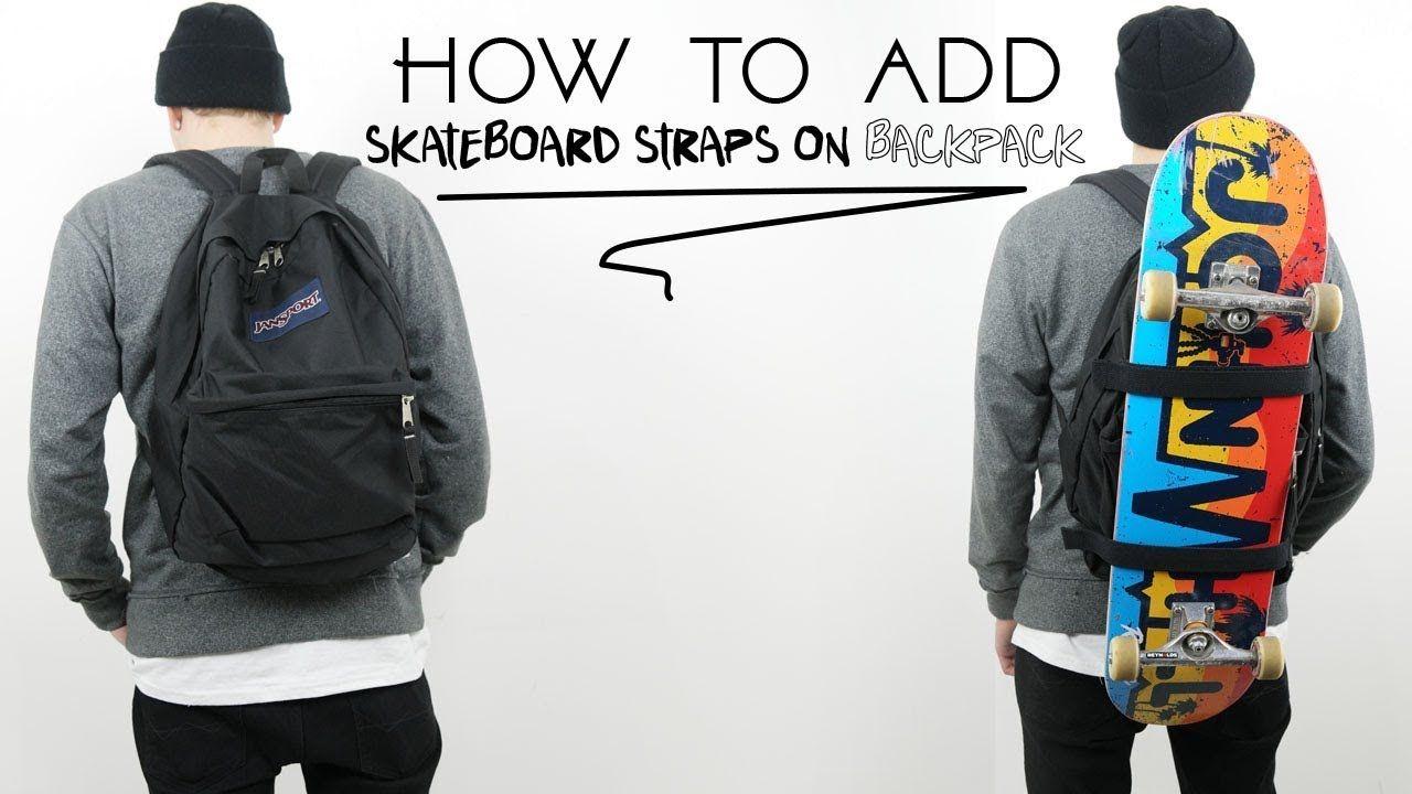 How To Make Skateboard Backpack Skateboard Backpack Skateboard Skateboard Bag