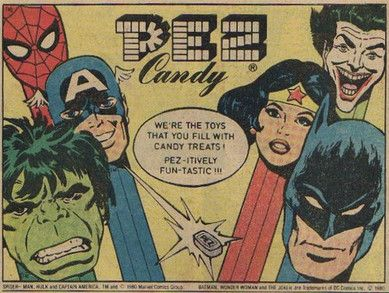 COMIC BOOK ADS | Marvel Comic Book Ads - The PezDude261 PEZ Collection!