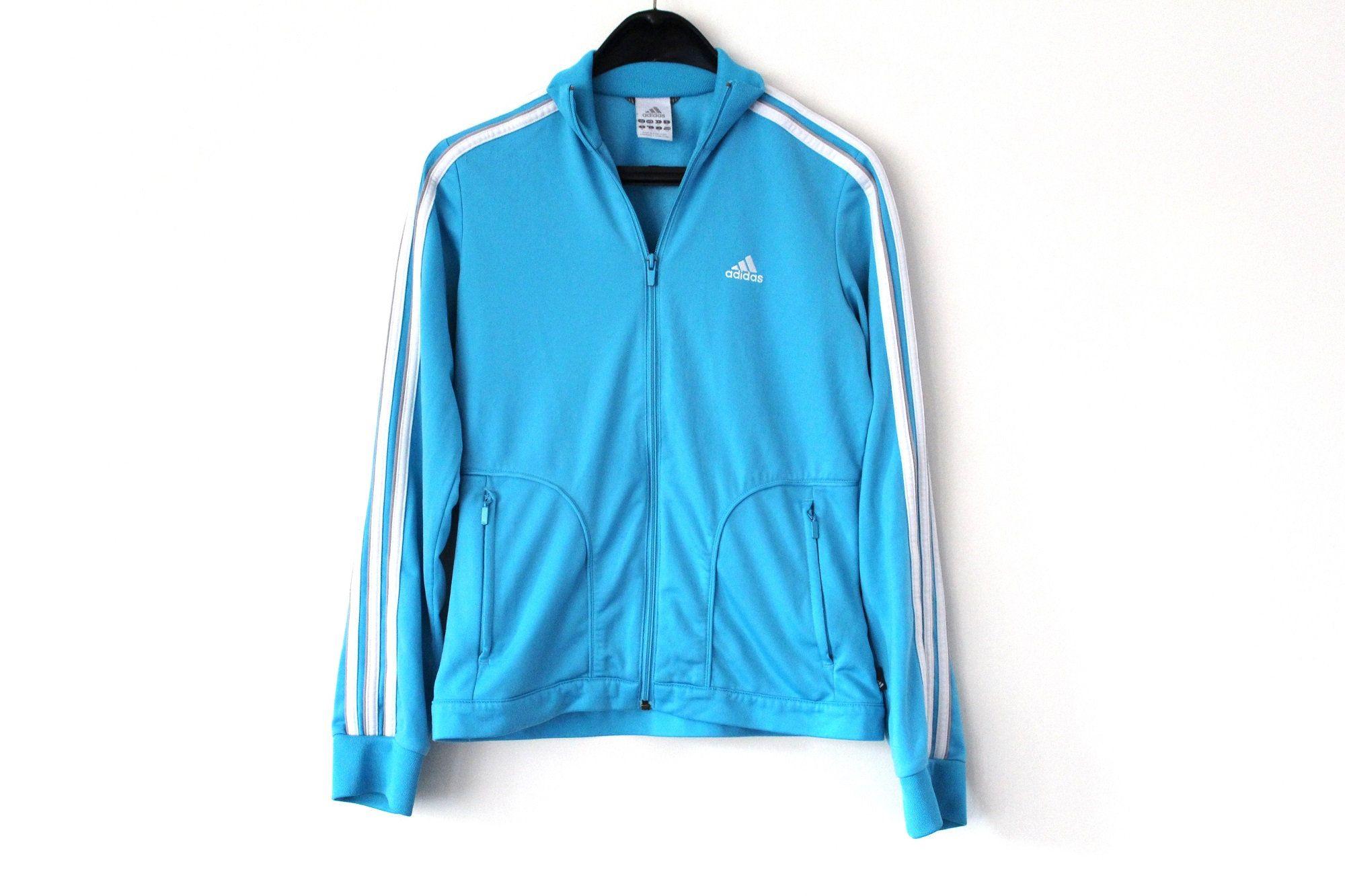 Blue White Adidas Track Jacket Vintage Sport Jacket Zipped Etsy Adidas Track Jacket White Adidas Pink Adidas Sweatshirt [ 1333 x 2000 Pixel ]