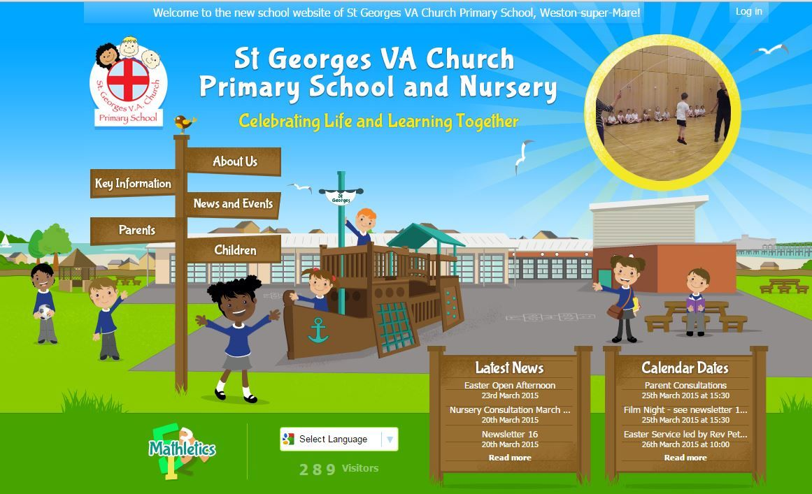 http://www.stgeorgesvachurchprimary.co.uk/ by https://primarysite.net/