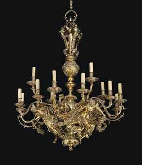 17th Century French Chandelier