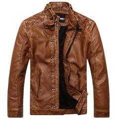 Este casaco de couro está à altura dos que gostam do melhor... Mas, para nós o melhor é agora, aproveitem... stock!!