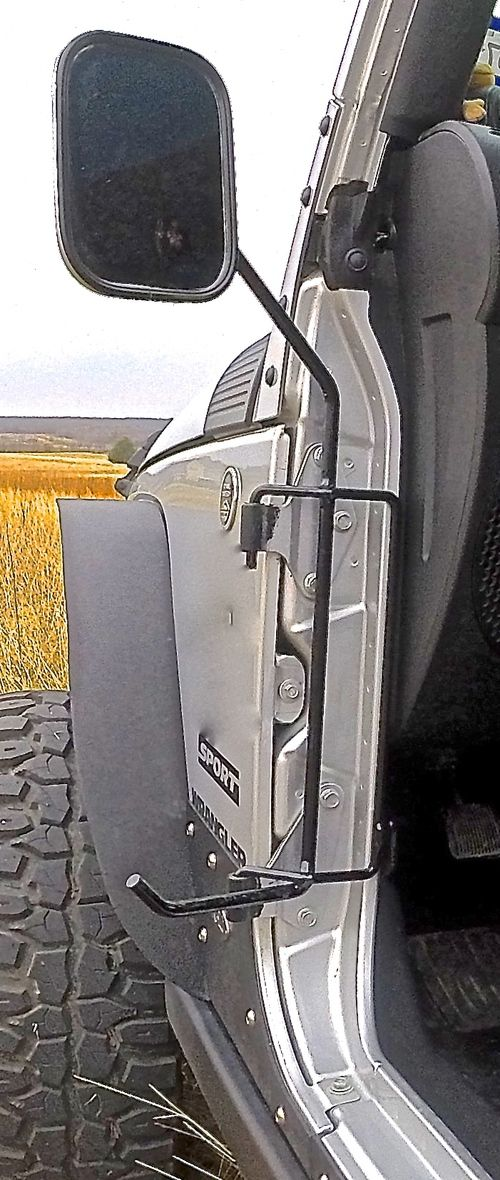 Side Mirrors With Foot Pegs Www Kikbaxoffroad Com Jeep Gear