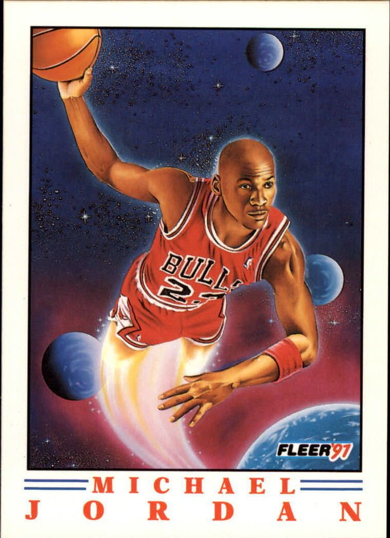 1991 92 Fleer Pro Visions 2 Michael Jordan Michael Jordan Michael Jordan Chicago Bulls Michael Jordan Basketball