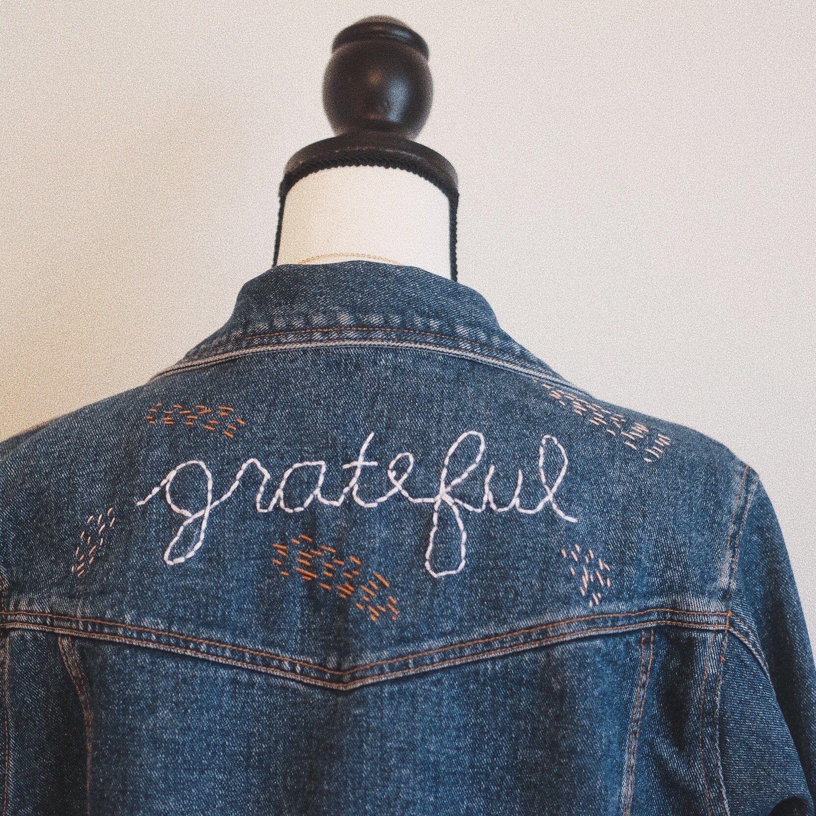 Hand Stitched Denim Vintage Jacket In 2020 Vintage Jacket Vintage Denim Jacket Wild Bags