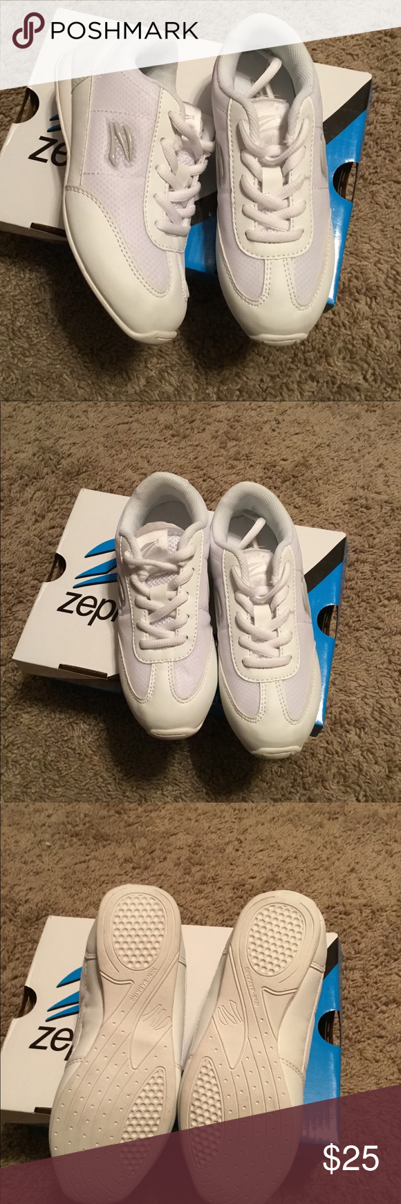 b374cac7323b Zephaniah Girls Cheerleading Shoes New in Box. More description on photos. Zephz  Shoes Sneakers