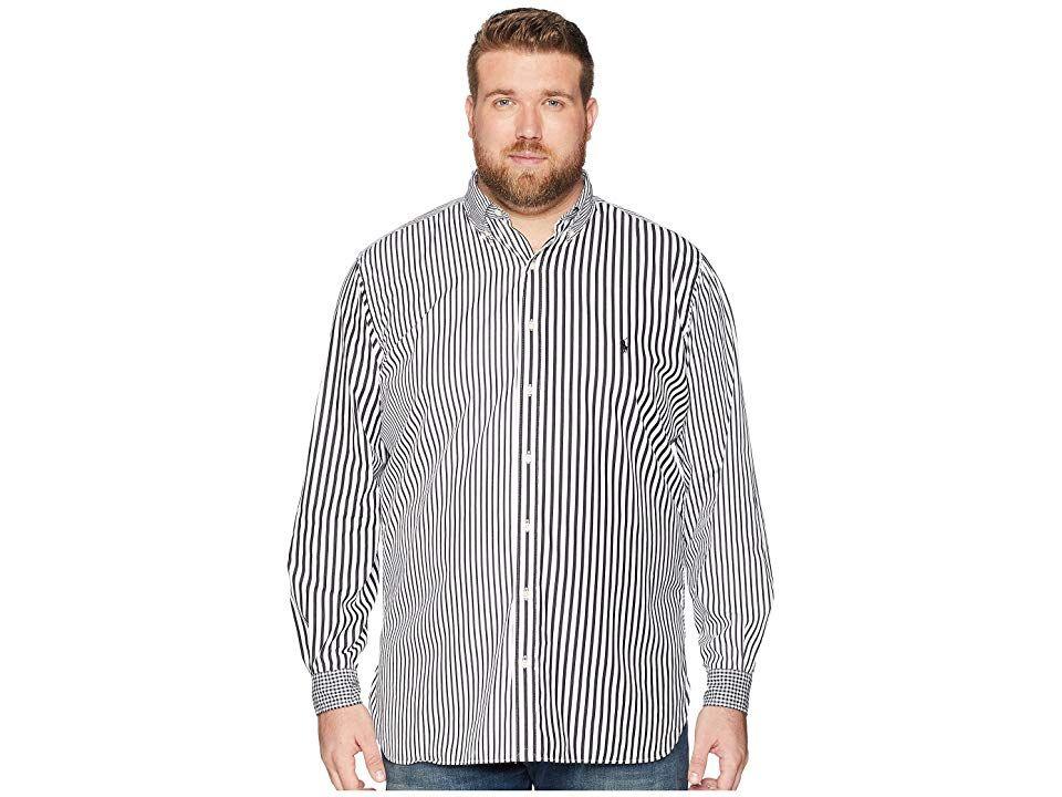 3ed79144e Polo Ralph Lauren Big Tall Fun Poplin Sport Shirt (Fun Shirt) Men s  Clothing.