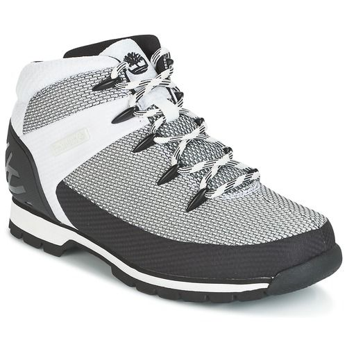 Euro Sprint Fabric Men's Mid Boots In White
