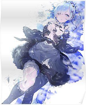 Rem - Re:Zero Poster