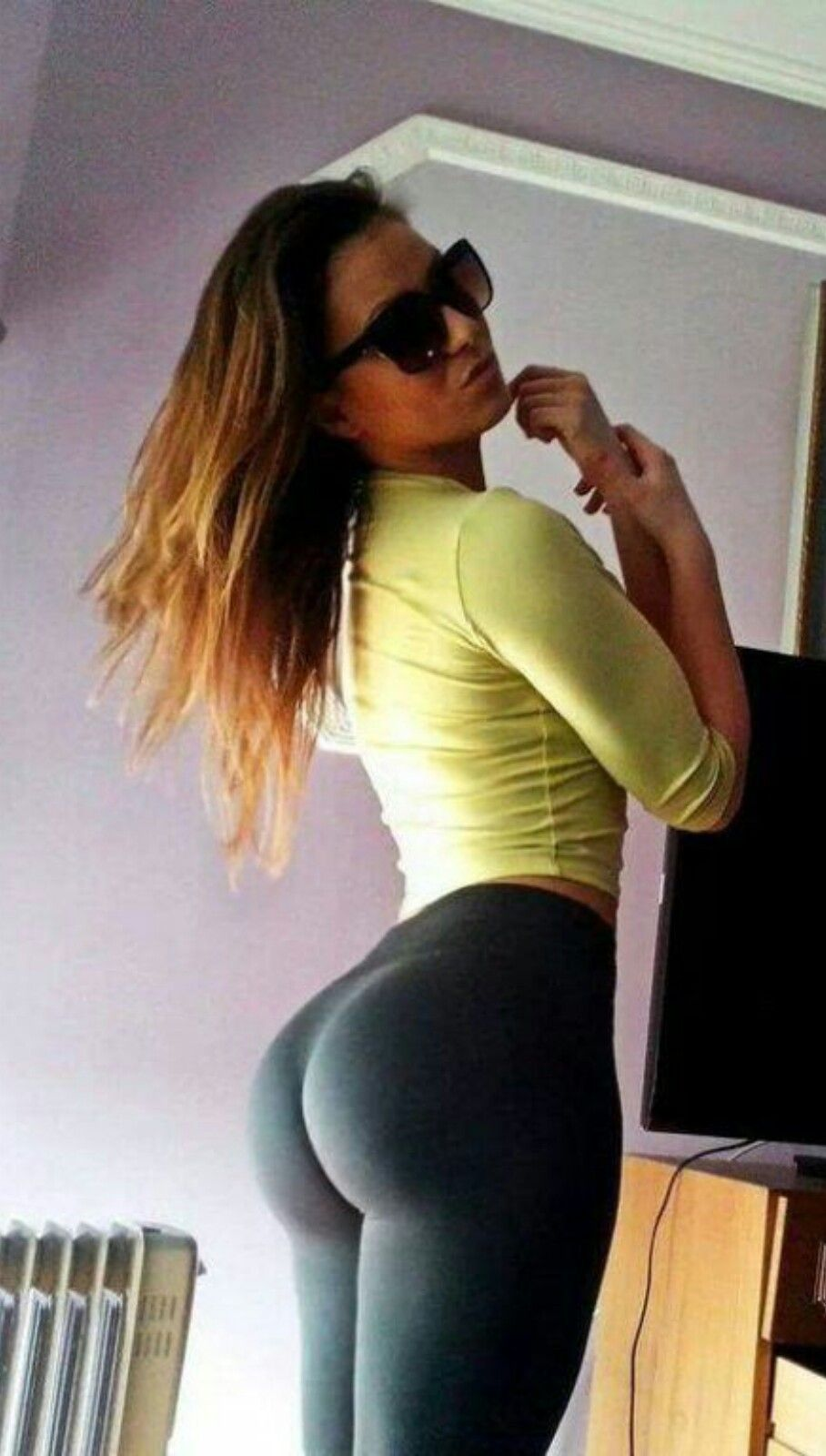pants Tight ass yoga