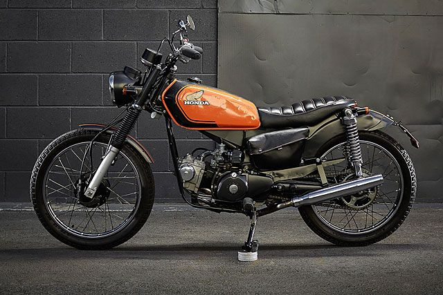 sal's honda ct110 brat - ellaspede | honda, honda cycles and honda