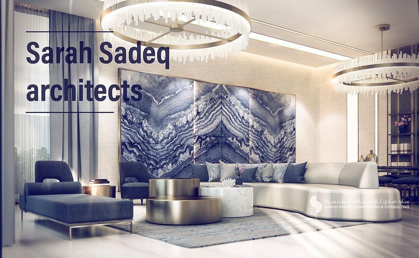 private villa interior sarah sadeq architects jumaira dubai sarah rh pinterest es