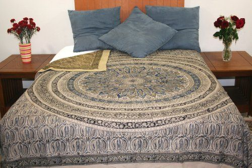 Reversible Duvet Cover Vegetable Dye Block Print Mandala ... https://www.amazon.com/dp/B00JK57O9G/ref=cm_sw_r_pi_dp_x_waGpybRS3A0F8