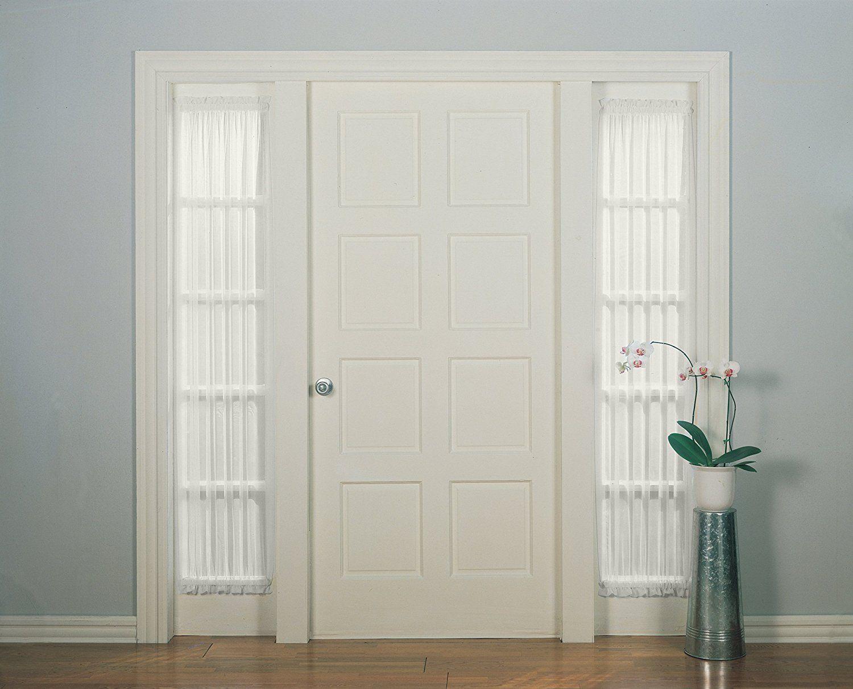 Amazon Com No 918 Emily Sheer Voile Patio Door Curtain Panel 28