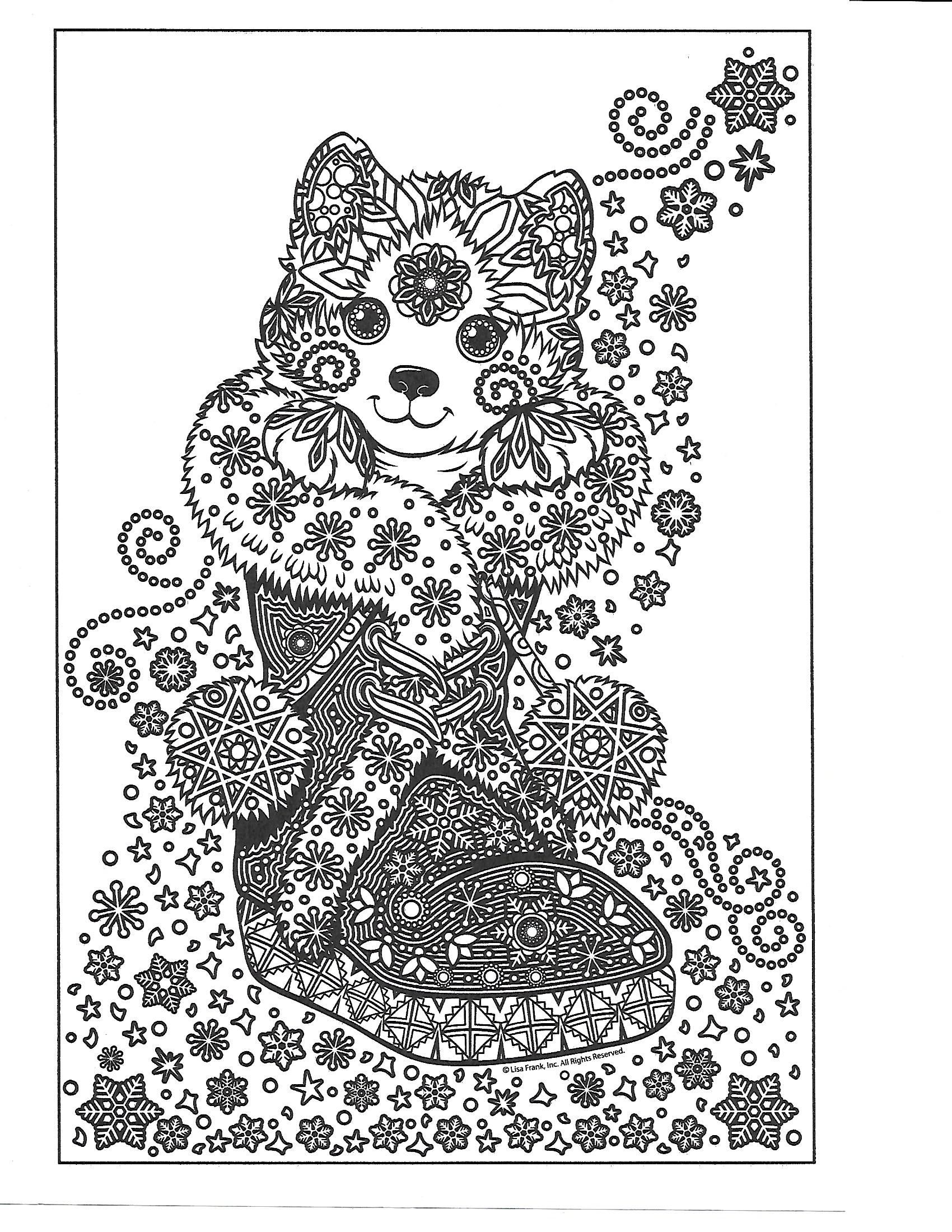 Pin By Beth Conroy On Color Cats Colouring Pages Christmas Colors Coloring Pages [ 2200 x 1700 Pixel ]