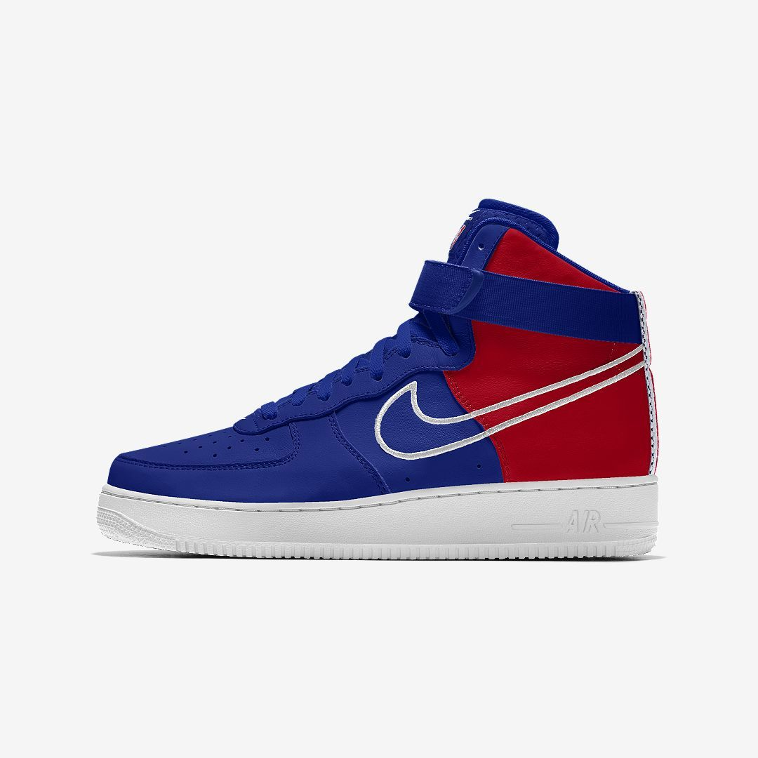 4f0826ddb2 Nike Air Force 1 Low Premium iD (Philadelphia 76ers) Men's Shoe Size 10.5  (Multi-Color)
