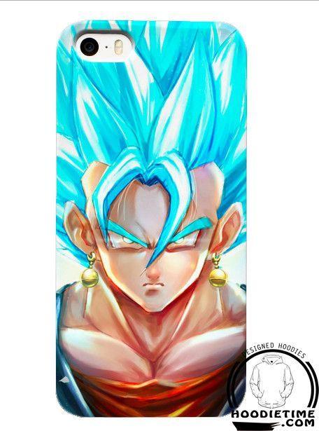 Super Saiyan Vegito Vegetto Blue iPhone Phone Case - Dragon Ball Z ...