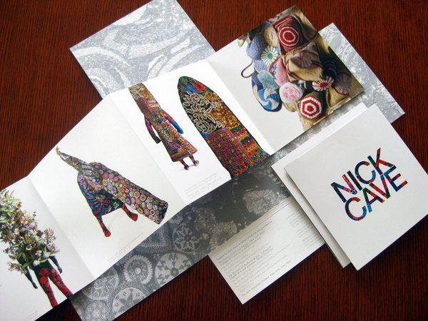 Nick Cave  HEAVYWEIGHT/ ALTERSKINS on Behance Beautiful brochures - fashion design brochure template