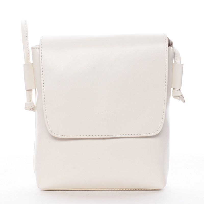 Elegantní ale originální dámská crossbody kabelka ItalY Tamia v bílé barvě  je skvělým doplňkem na večerní d3defa4c2c3