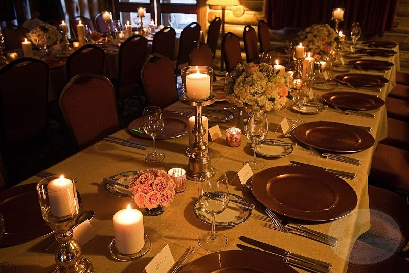The Dining Room At Keystone Ranch A Wedding Venue In Colorado Photo