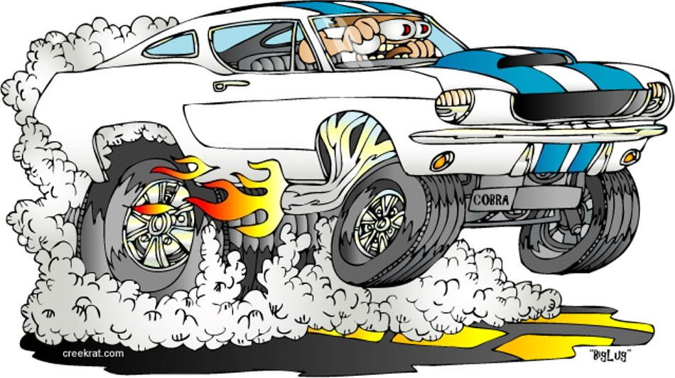 Rat Rods Cartoons Hot Rod Cartoons Creekrat Cartoons Cool Cars