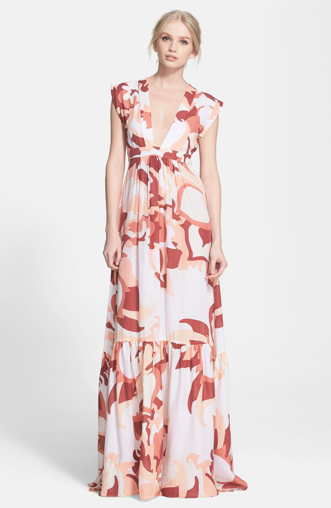Rachel Zoe \'Pammy\' Maxi Dress | Style I dig. | Pinterest | Vestido ...