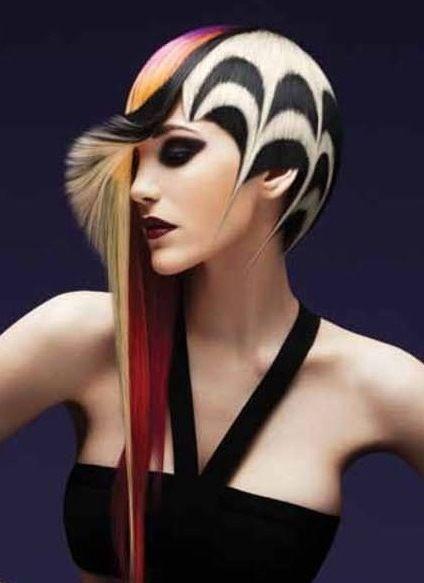 Stunning Hair Colours Amazing Hair Designs Avant Garde Hugely Inspiring For A Professional Photographer Based In Bur Artistic Hair Extreme Hair Hair Designs