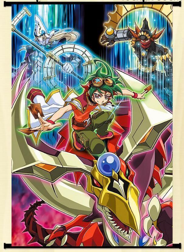 $7 99 - Wall Scroll Poster Yu-Gi-Oh! Arc-V Home Decor